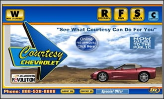 Courtesy Chevrolet