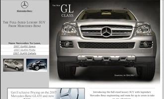 Mercedes GL450 Micro Site